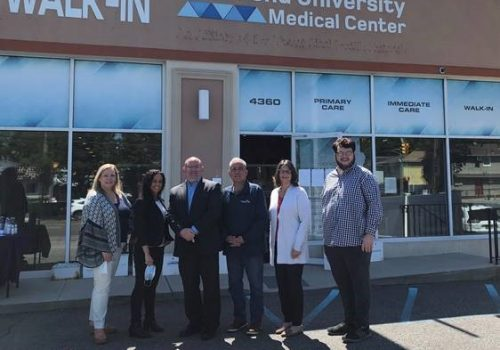 RUMC Joins Forces with Local Elected Officials to Host Pop-Up South Shore Vaccination Site