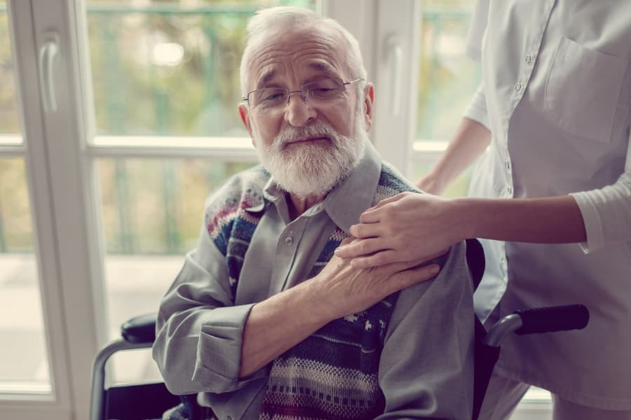 Palliative Care Patient And Caregiver